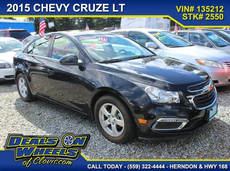 2015 Chevrolet Cruze 1LT Auto 4dr Sedan w/1SD - Clovis CA