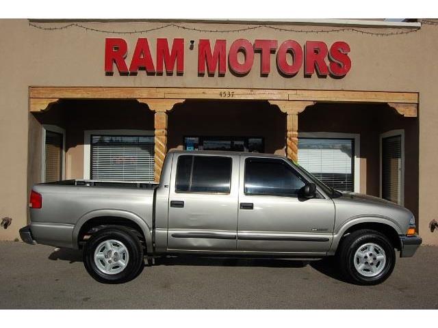2001 chevrolet s10 for Ram motors rio rancho