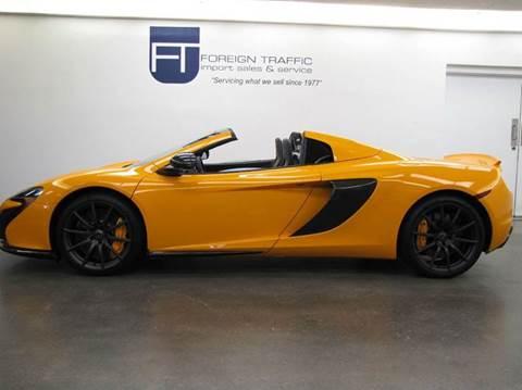2015 McLaren 650S Spider for sale in Allison Park, PA