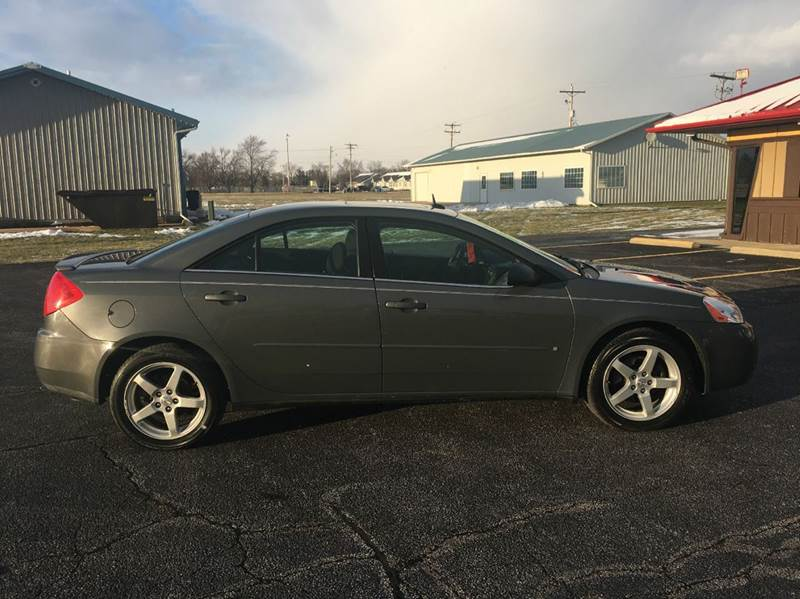 2008 Pontiac G6 Base 4dr Sedan - Hoopeston IL