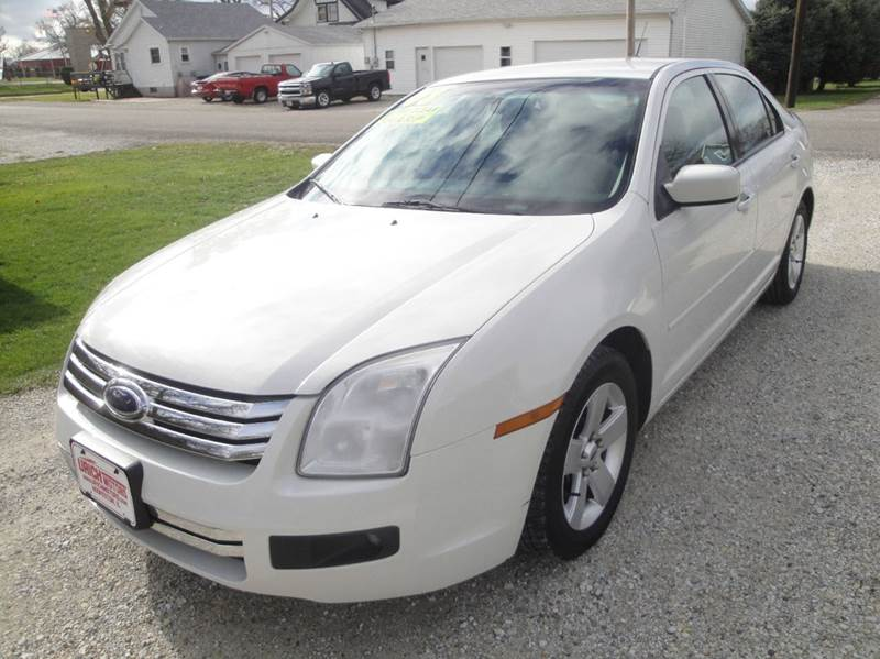 2008 Ford Fusion I4 SE 4dr Sedan - Hoopeston IL