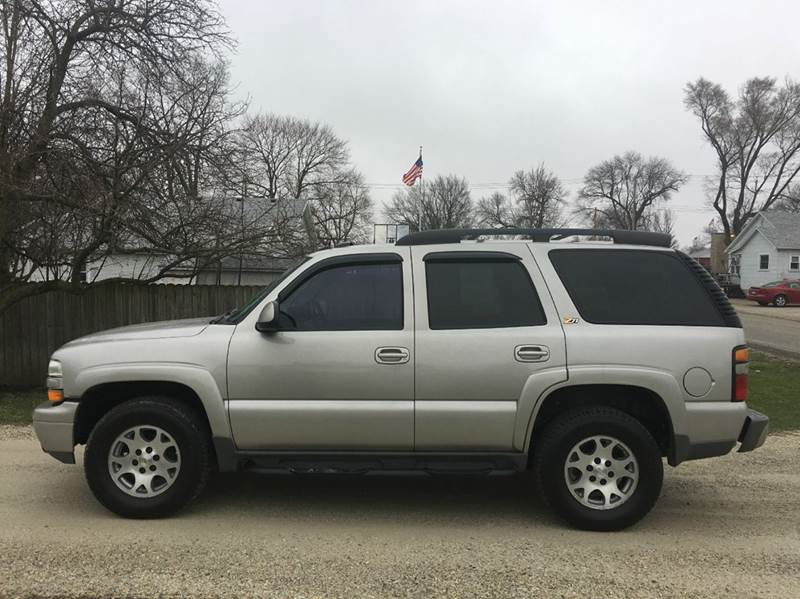 2004 Chevrolet Tahoe Z71 4WD 4dr SUV - Hoopeston IL