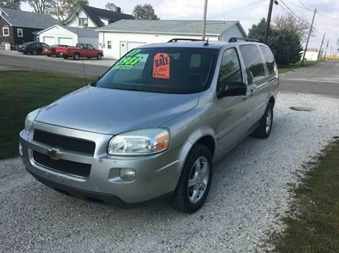 2007 Chevrolet Uplander for sale in Hoopeston, IL
