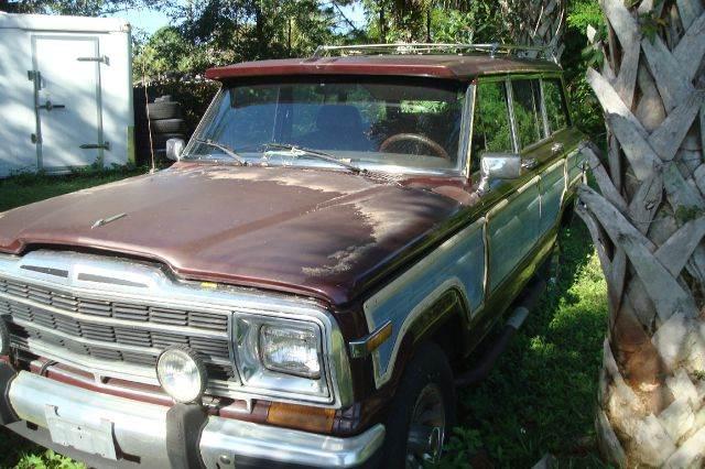 1987 jeep grand wagoneer for sale. Black Bedroom Furniture Sets. Home Design Ideas