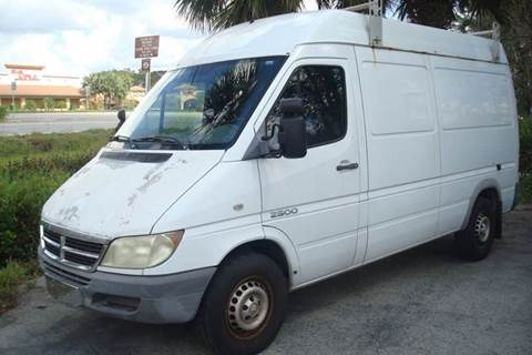 2005 Dodge Sprinter Cargo for sale in Estero, FL