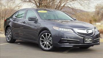 2016 Acura TLX for sale in Reno, NV