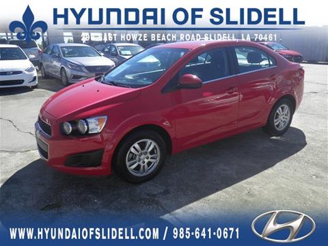 2013 Chevrolet Sonic for sale in Slidell, LA