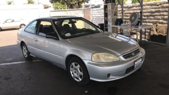 Captivating 2000 Honda Civic EX 2dr Coupe   Fontana CA