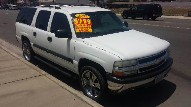 2002 chevrolet suburban 1500 ls 2wd 4dr suv in fontana ca a plus auto of fontana. Black Bedroom Furniture Sets. Home Design Ideas