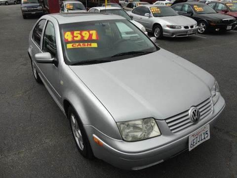 2000 Volkswagen Jetta for sale in Fontana, CA