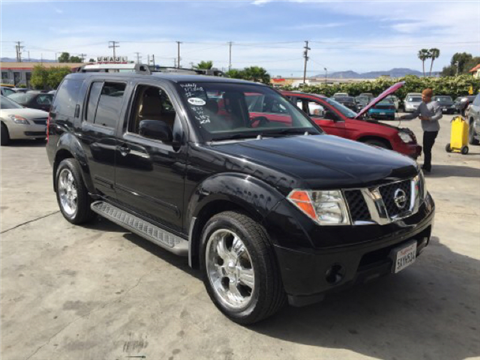 2007 Nissan Pathfinder for sale in Fontana, CA