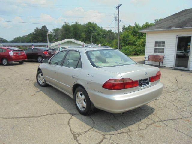 1999 honda accord ex v6 4dr sedan in heath brownsville for Platinum motors heath ohio