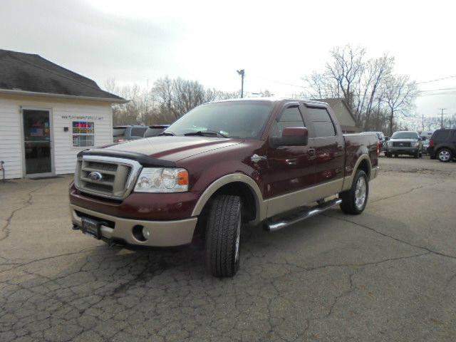 2007 ford f 150 king ranch 4dr supercrew 4x4 styleside 5 5 for Platinum motors heath ohio