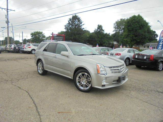 2008 cadillac srx v8 4dr suv in heath oh platinum motors llc