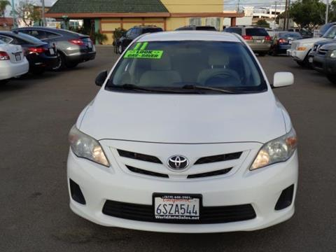 2011 Toyota Corolla for sale in San Diego CA