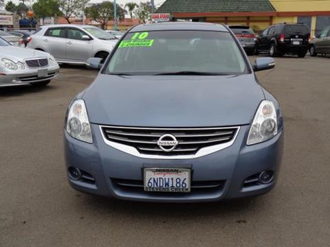 2010 Nissan Altima for sale in San Diego CA