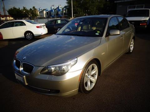 2010 BMW 5 Series for sale in San Diego CA
