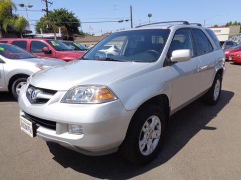 2004 Acura MDX for sale in San Diego CA