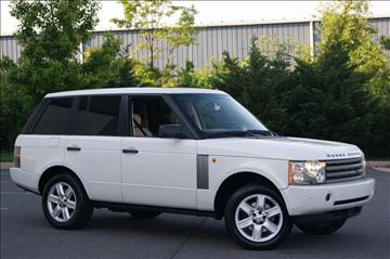 2004 Land Rover Range Rover for sale in Chantilly, VA