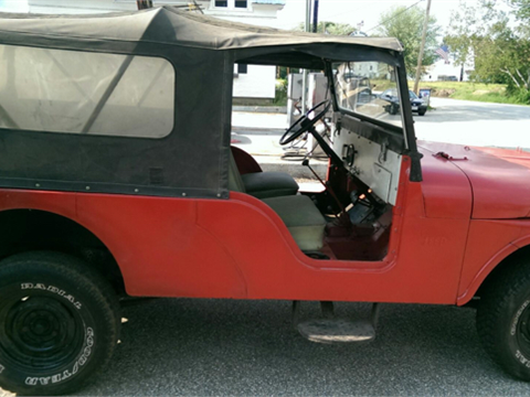 1965 Jeep Willys for sale in Norfolk, MA