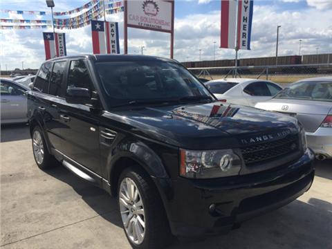 2010 Land Rover Range Rover Sport for sale in San Antonio, TX