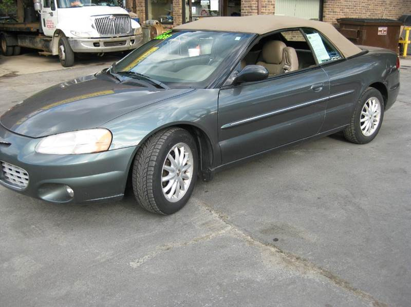 2002 chrysler sebring for sale in middlefield ct. Black Bedroom Furniture Sets. Home Design Ideas