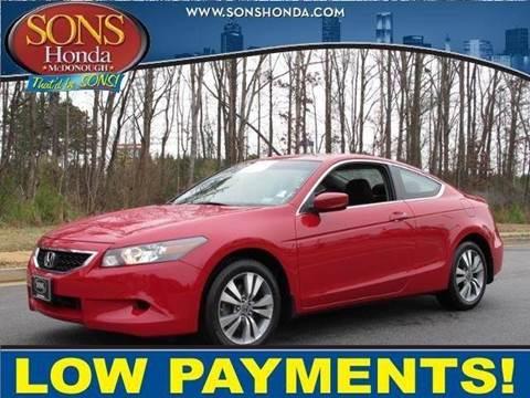2010 Honda Accord for sale in Brunswick, GA