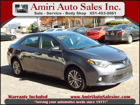 2014 Toyota Corolla for sale in South Saint Paul, MN