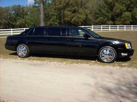 2002 Cadillac Deville Professional for sale in Belleview, FL