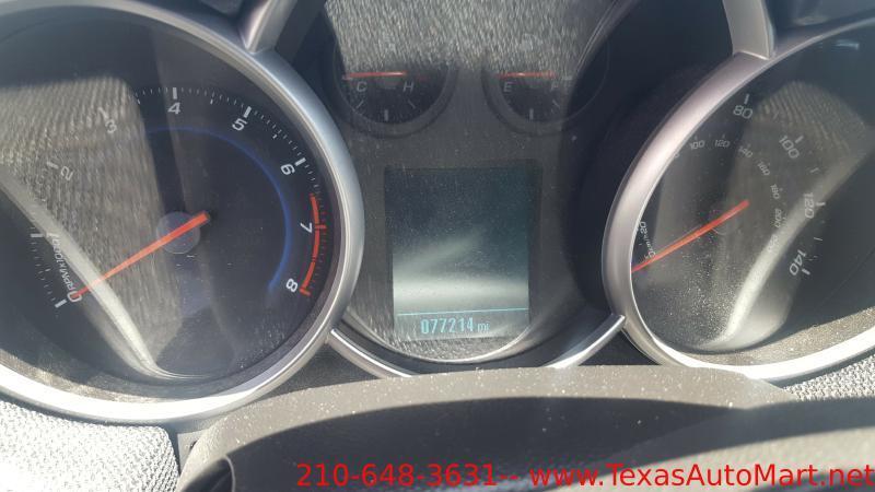 2014 Chevrolet Cruze LT Fleet 4dr Sedan w/1FL - San Antonio TX