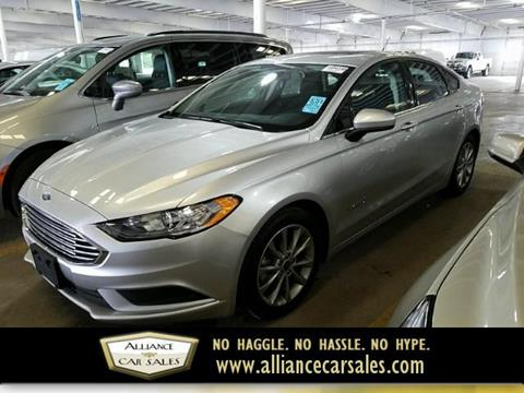 2017 Ford Fusion Hybrid for sale in Edina, MN