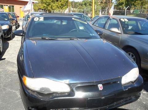 2002 Chevrolet Monte Carlo for sale in Capitol Heights, MD