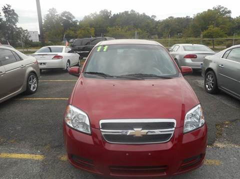 2011 Chevrolet Aveo for sale in Capitol Heights, MD