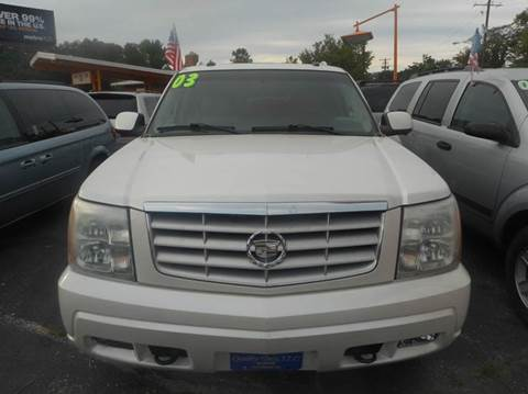 2003 Cadillac Escalade ESV for sale in Capitol Heights, MD
