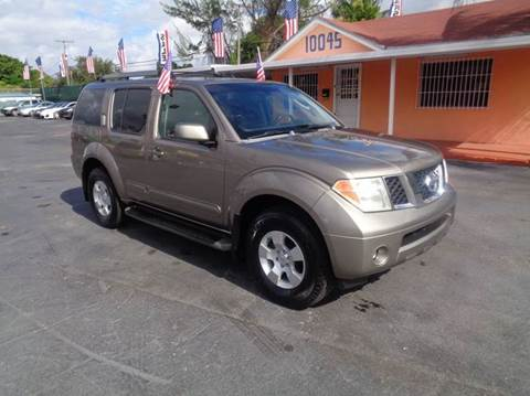 2005 Nissan Pathfinder for sale in Miami, FL