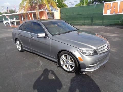 2011 Mercedes-Benz C-Class for sale in Miami, FL