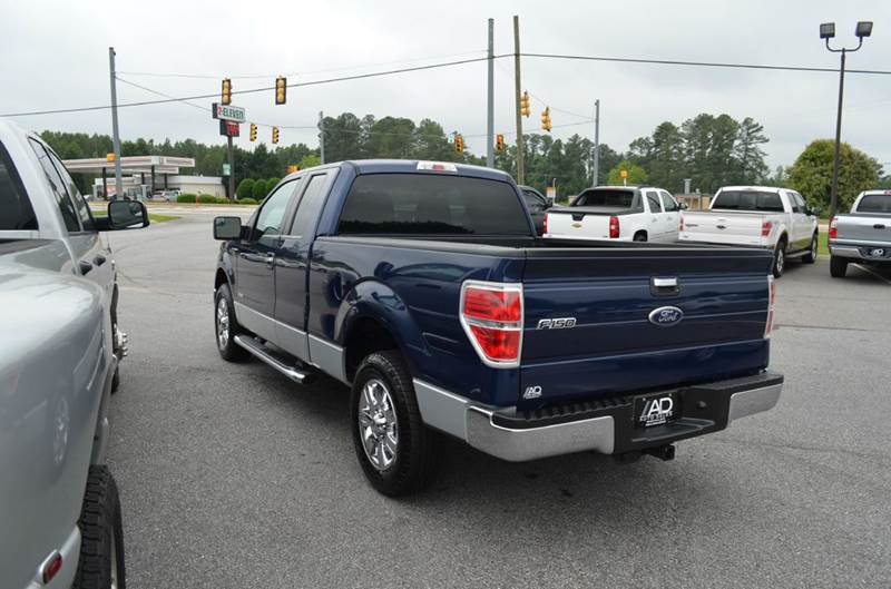2012 Ford F-150 4x2 XLT 4dr SuperCab Styleside 6.5 ft. SB - Anderson SC