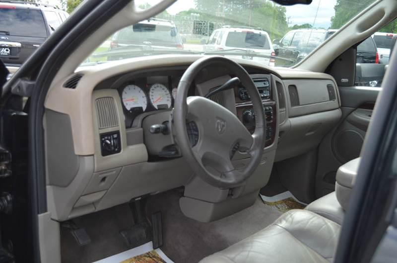2003 Dodge Ram Pickup 2500 Laramie 4dr 4WD Quad Cab SB - Anderson SC