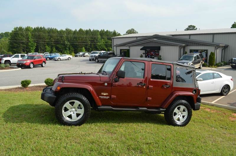 2007 Jeep Wrangler Unlimited 4x4 Sahara 4dr SUV - Anderson SC