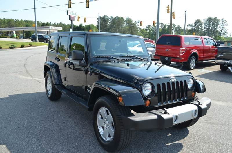 2011 Jeep Wrangler Unlimited Sahara 4x4 4dr SUV - Anderson SC