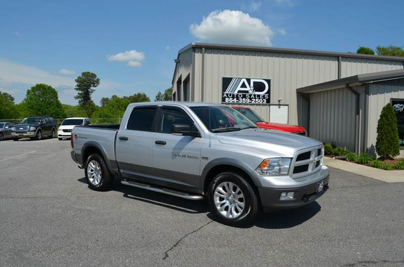 2011 RAM Ram Pickup 1500 4x4 Outdoorsman 4dr Crew Cab 5.5 ft. SB Pickup - Anderson SC