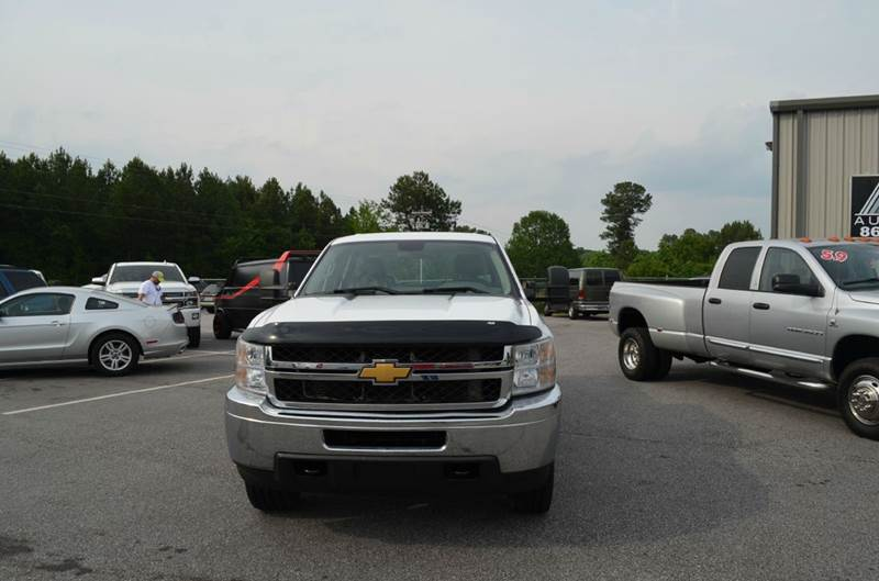 2014 Chevrolet Silverado 2500HD 4x4 Work Truck 4dr Crew Cab LB - Anderson SC