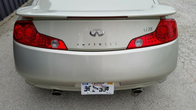 2005 Infiniti G35 Rwd 2dr Coupe - Keller TX