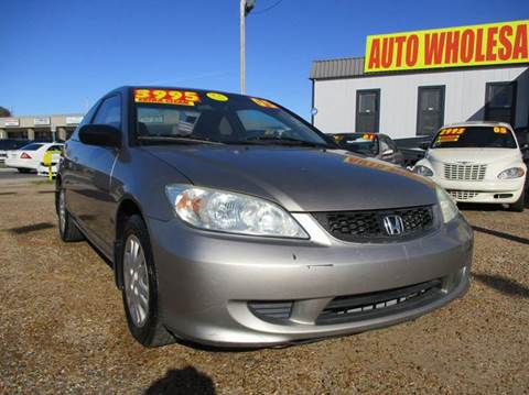 2005 Honda Civic for sale in Kenner, LA