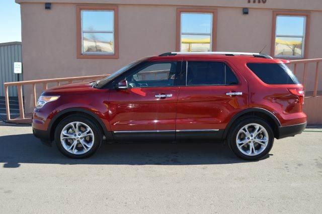 2014 ford explorer limited 4x2 4dr suv in el paso el paso for Torresdey motors el paso texas