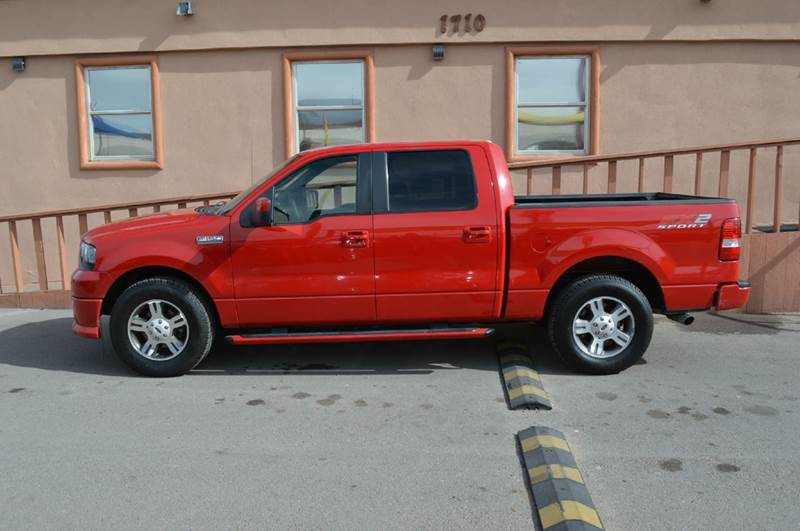 2007 ford f 150 fx2 4dr supercrew styleside 5 5 ft sb in for Torresdey motors el paso texas