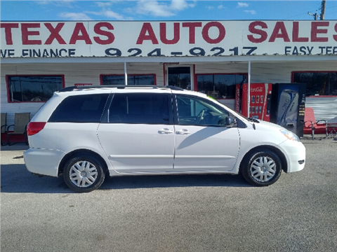 used 2008 toyota sienna for sale texas. Black Bedroom Furniture Sets. Home Design Ideas