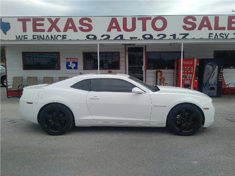 2011 Chevrolet Camaro For Sale San Antonio Tx