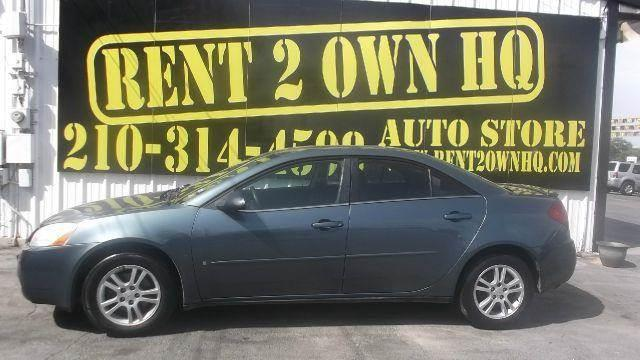 Pontiac G6 For Sale In San Antonio Tx