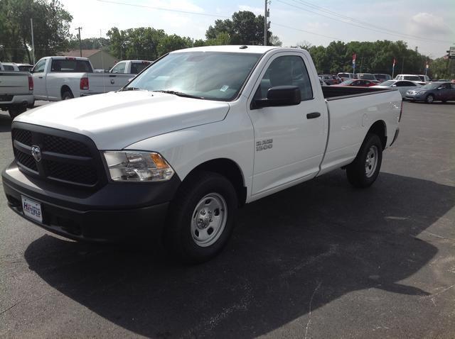 New 2014 Dodge Ram Pickup 1500 Tradesman 4x4 2dr Regular ...